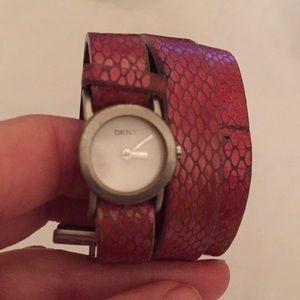 DKNY wrap watch
